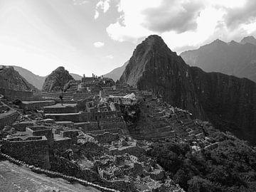 Mystieke  ruïnes van de Machu Picchu van