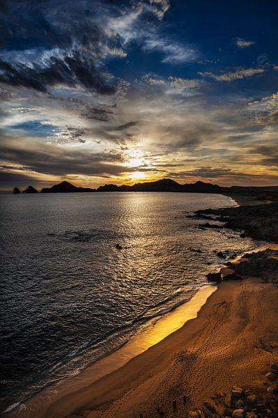 Golden Sunset van Nanouk el Gamal - Wijchers (Photonook)