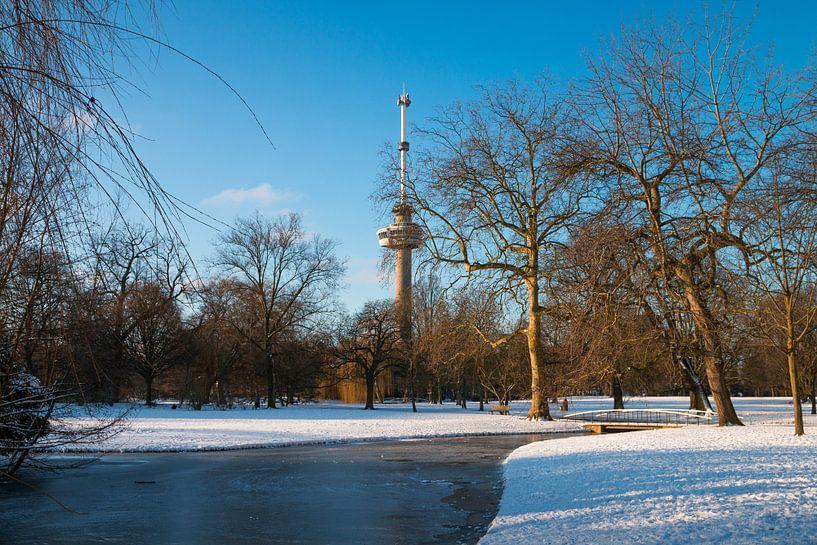 De Euromast - winter 5 van Nuance Beeld