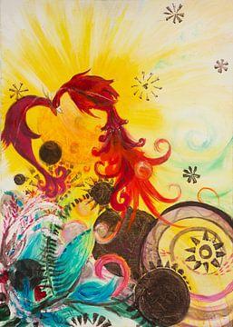 Sonnenvogel von Carmen Eisele