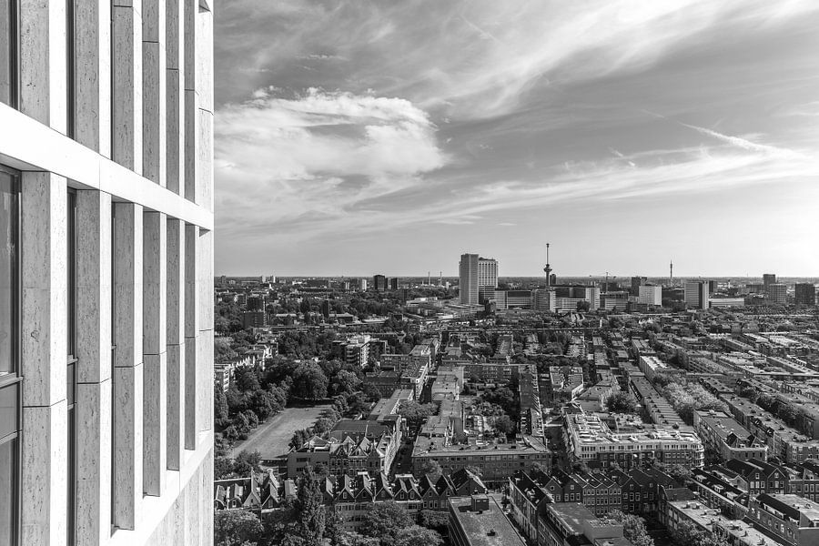 De skyline van Rotterdam van MS Fotografie