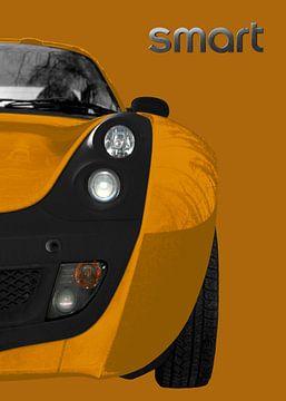 slimme Roadster in oranje & bruin van aRi F. Huber