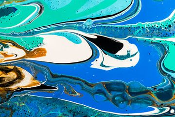 Acryl kunst 1973 van Rob Smit
