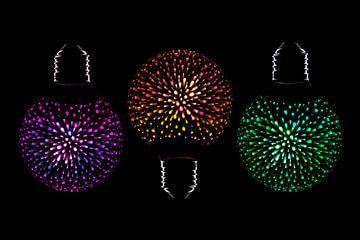 Dekorative LED-Lampe von Tanja van Beuningen