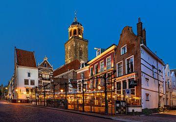 Deventer stadsgezicht, Nederland van Adelheid Smitt