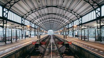 Haarlem: Station perron west van Olaf Kramer
