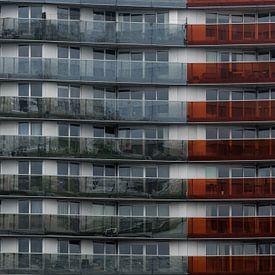 Galerie colorée d'un appartement sur Patrick Verhoef