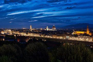 Uitzicht op Florence von Roy Poots