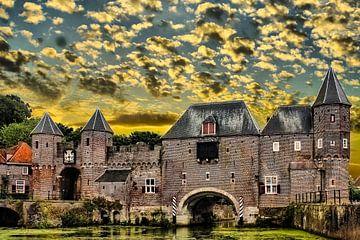 Koppelpoort, Amersfoort, The Netherlands van Maarten Kost