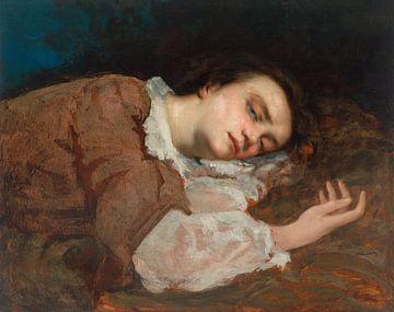 Studie voor Les Demoiselles des bords de la Seine, Gustave Courbet