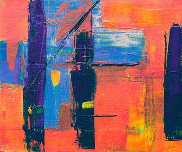 Abstracte schilderkunst van Winston Sobalvarro