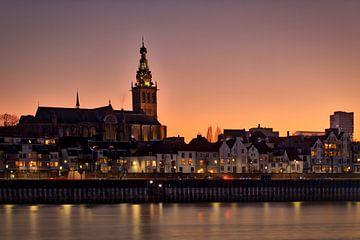 Skyline van Nijmegen van Jeffrey Van Zandbeek