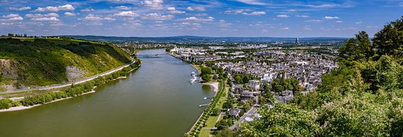 river rhine van Heinz Grates