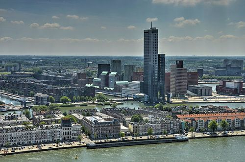 Rotterdam, Maasturm und Südufer