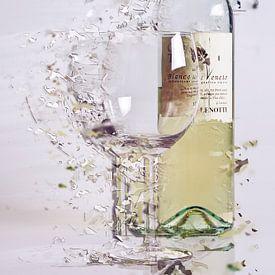 Broken glass sur Jos Verhoeven
