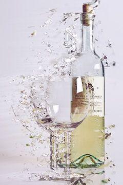 Gebroken glas van