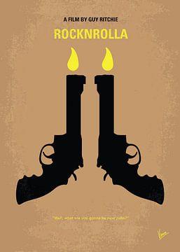 No071 My Rocknrolla minimal movie poster van Chungkong Art