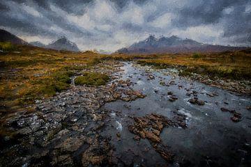 Landschaft Schottland von Digitale Schilderijen