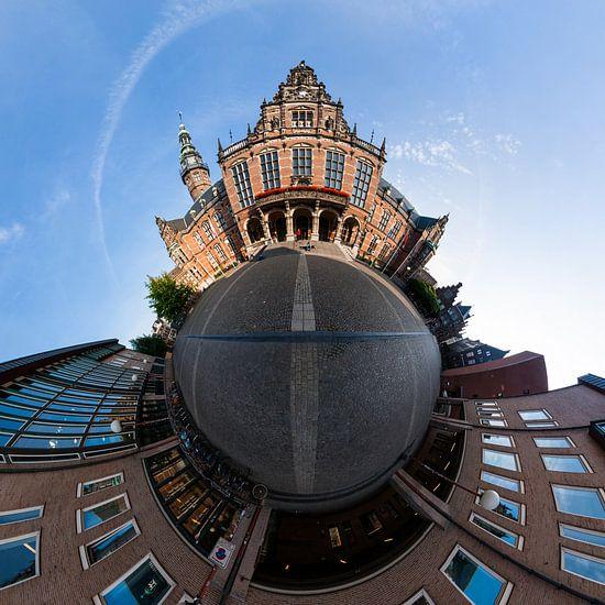 Planet Academiegebouw Groningen van Frenk Volt