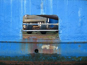 blauw van Marianne Tiel