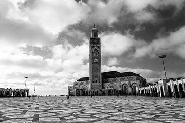 La mosquée Hassan II est une mosquée de Casablanca, au Maroc. sur Tjeerd Kruse