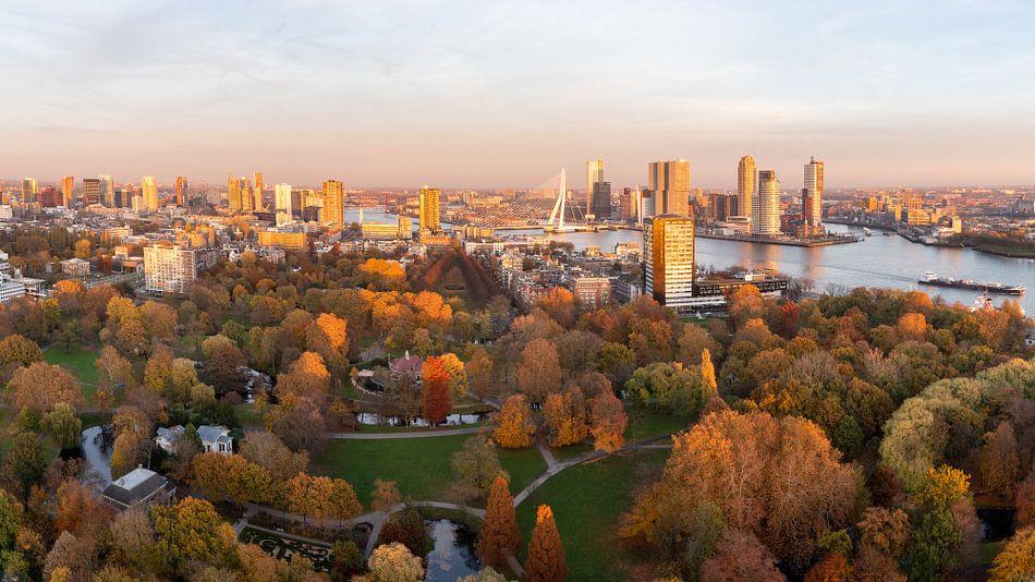 Herfst in de stad Rotterdam van Jeroen Kleiberg