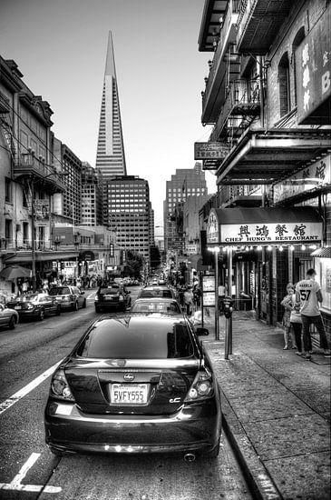 Chinatown in San Francisco van Wim Slootweg
