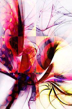 Colorful Modern Artwork van Markus Wegner