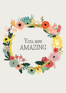 You are amazing van A new language