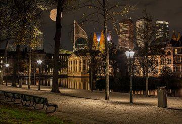 De Skyline van Den Haag. van René Rollema