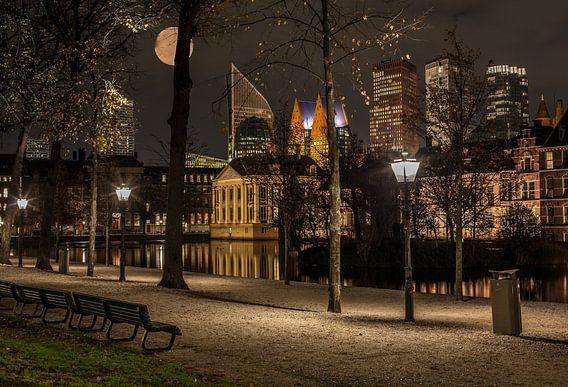 De Skyline van Den Haag.