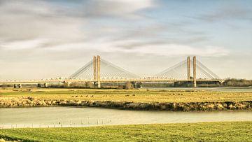 Ich fuhr nach Bommel, um mir die Brücke anzusehen. ... Zitat; von Henri van Avezaath