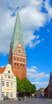St Johannis in Lueneburg van