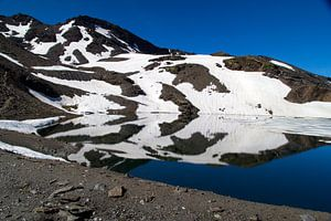Ice Mountain Reflections