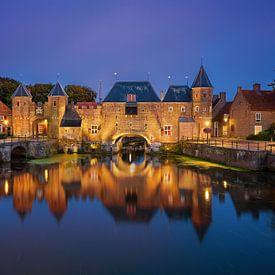 Koppelpoort à Amersfoort, Pays-Bas sur Adelheid Smitt