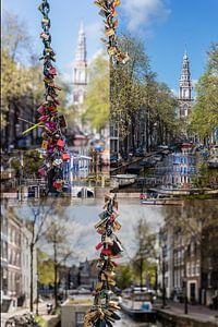 Staalmeestersbrug Love locks Amsterdam van