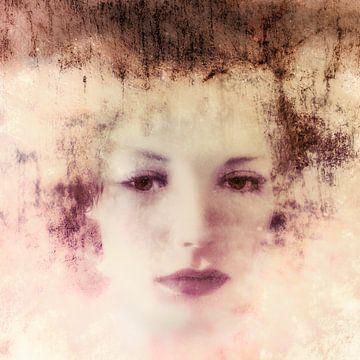 Vages Porträt von Marijke de Leeuw - Gabriëlse