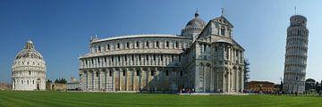 Toren en kathedraal van Pisa sur Jeroen van Deel
