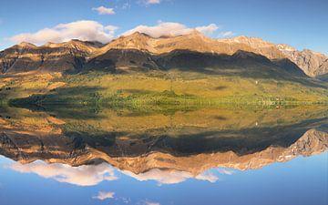 Glenorchy Lagoon bij zonsopgang, Nieuw-Zeeland van Markus Lange