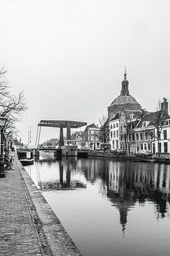 Leiden zwart wit