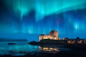 Eilean Donan Castle in Dornie Scotland van