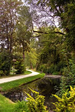 DE - Baden-Württemberg : Public castle park of Laupheim van