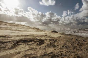 Storm op zee. von Hans Heemsbergen