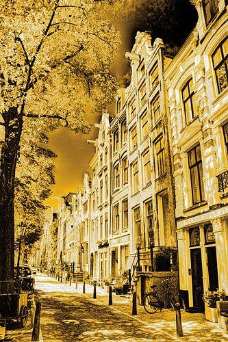 Jordaan Westerkerk Amsterdam Nederland Goud