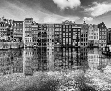 Amsterdam, Damrak von C. Wold