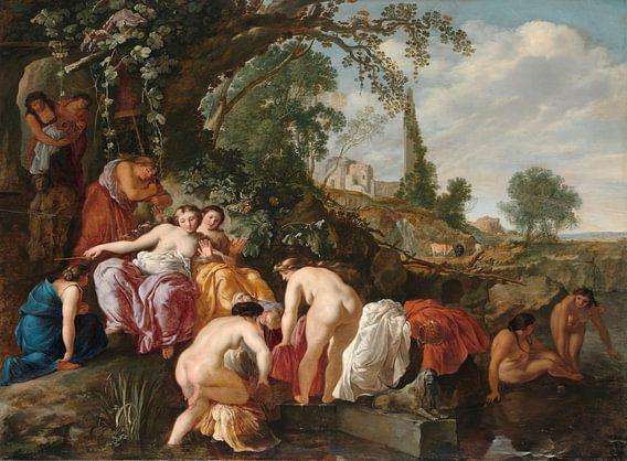 De dochter van de farao vindt Mozes in het biezen mandje, Moyses van Wtenbrouck