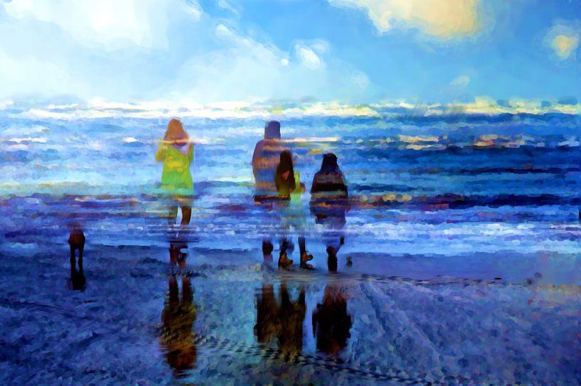 Strand van Frans Vanderkuil
