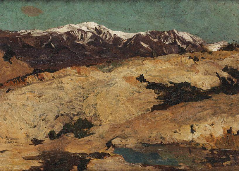 Fernando Fader~Nas colinas. von finemasterpiece
