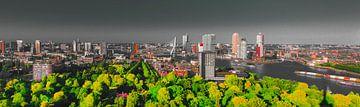 Rotterdam skyline mystiek van