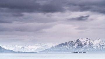 Sanden Lofoten Norwegen von Frank Hoogeboom